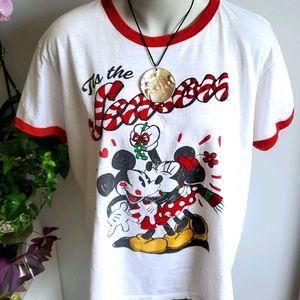 Disney Mickey & Minnie T-shirt  2XL
